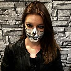 masque squelette femme maquillage mes maquillages