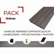 exemple de qualité pack 1 m 178 lame de terrasse composite qualita accessoires 3600 mm mccover