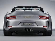 Porsche 911 Speedster Concept 2018 Picture 5 Of 14