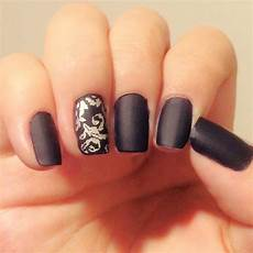 34 black nail art designs ideas design trends