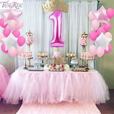 1st birthday decoration themes fengrise 1st birthday decoration diy 40inch number 1