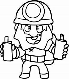 dynamike from brawl stars coloring page