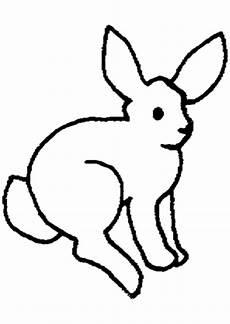Ausmalbild Hase Pdf Ausmalbilder Einfacher Hase Tiere Zum Ausmalen