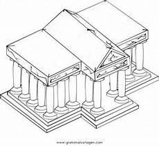 Kinder Malvorlagen Griechenland Tempel 2 Gratis Malvorlage In Antikes Griechenland