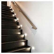luminaire encastr 233 pour escalier 1 5w blanc rona