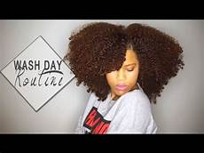 my wash day routine for natural hair youtube