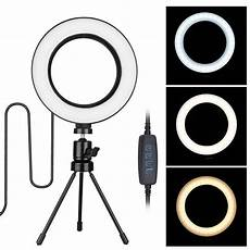 Inch Ring Light With Tripod Stand by Tsv 6 Inch Ring Light With Tripod Stand For