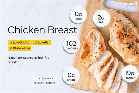 6 Oz Chicken Breast Protein