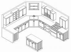 Kitchen Design Drawings by Foundation Dezin Decor Touch Of Manual Drawings