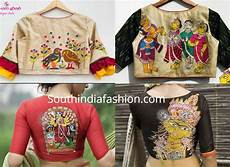 trendy ready made blouse designs by sayanti ghosh designer