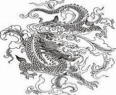 Ausmalbilder Chinesische Drachen Flag Drawing At Getdrawings Free
