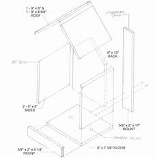 cardinal bird house plans northern cardinal birdhouse plans