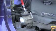 vw jetta golf 1 8t engine thermostat removal