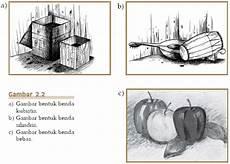 Belajar Serbaneka Menggambar Bentuk Objek Tiga Dimensi