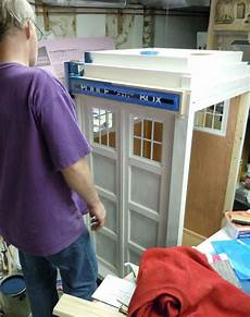 tardis cat house plans diy kitty tardis playhouse for cats who love the doctor