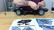 build the back to the future delorean issue 39 chassis