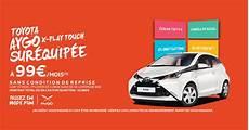 Offre Sp 233 Ciale Toyota Aygo Passez En Mode