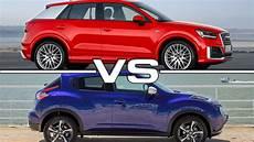 audi q2 vs nissan juke road test