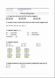 test ingresso superiori matematica verifiche matematica scuola primaria prova d ingresso