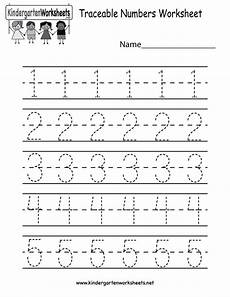numbers worksheets for kindergarten 18393 kindergarten traceable numbers worksheet printable preschool number worksheets