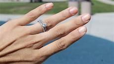 diamond dermal piercings in lieu of engagement rings are trending