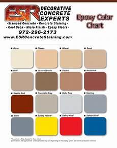 epoxy floor dallas tx esr decorative concrete experts