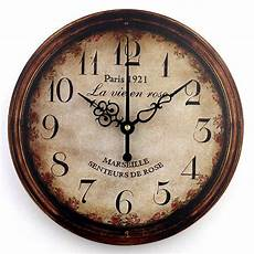 clocks home decor vintage large decorative wall clock home decor shabby chic