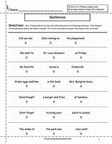 writing basic sentences worksheets 22123 16 best images of 1 grade sentence writing worksheets 2nd grade sentences worksheets 2nd