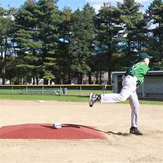 promounds minor league pitching mound with clay turf on deck sports