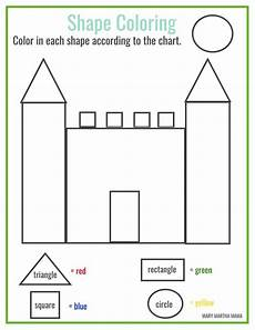 free worksheets colors and shapes 12712 free printable shape coloring printable shape worksheets for preschool free preschool