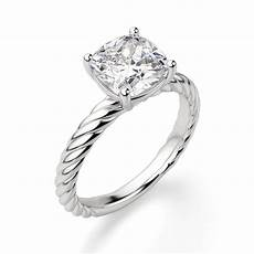 fiji cushion cut engagement ring