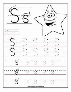 free printable tracing worksheet best for your kid to learn and write enjoy writing letter s