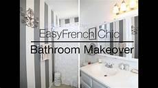 easy rental bathroom makeover youtube