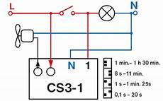 zeitschalter f 252 r ventilatoren l 252 fter nachlaufrelais cs3 1