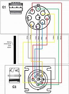 9 pin trailer wiring diagram free picture vehicle specific installation notes