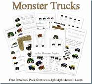 Monster Trucks Preschool Pack  1 1=1