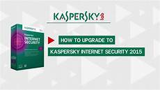 how to upgrade to kaspersky security 2015