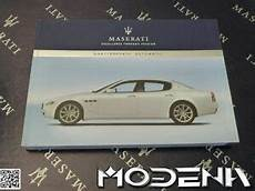 free service manuals online 1984 maserati quattroporte user handbook log book hand book owners manual english maserati quattroporte car usa ebay