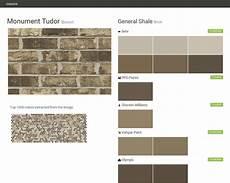 monument tudor brown brick general shale behr ppg paints sherwin williams valspar paint