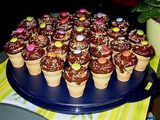 Kleine Kuchen Im Waffelbecher Rezept Mit Bild