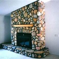 make river rock stone veneer like this for your fireplace for about 0 65 a square foot right