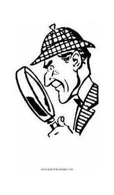 Malvorlage Detektiv Ausdrucken Detektiv 0 Gratis Malvorlage In Comic Trickfilmfiguren