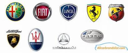 Italian Car Logos And Brand Names  Famous Italy Brands