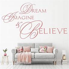 wall sticker decal quotes imagine believe wall stickers quote wall