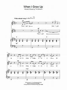 when i grow up from matilda the musical sheet music direct