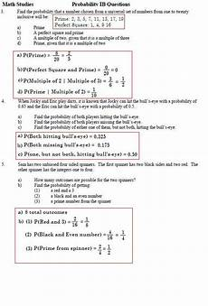 probability worksheets and solutions 5698 southwest math studies page before all of the probability worksheet