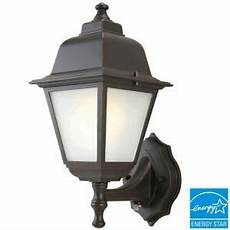 wall 1 light outdoor rubbed bronze dusk to dawn