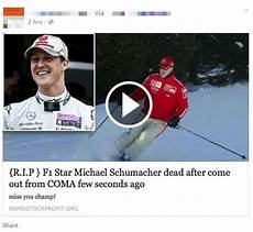 michael schumacher tod michael schumacher dead it s the sick scam