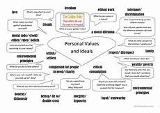 personal values and ideals worksheet free esl printable worksheets made by teachers