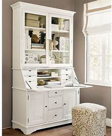 pottery barn home office furniture graham desk hutch for the home decoracion de muebles